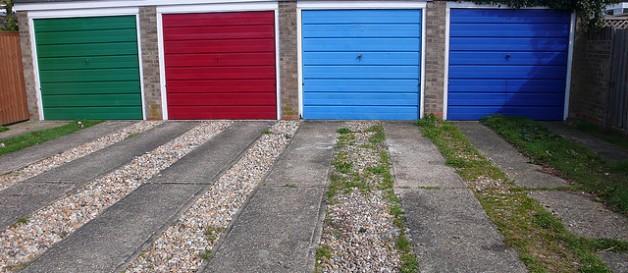 Marcado CE en las puertas de garaje